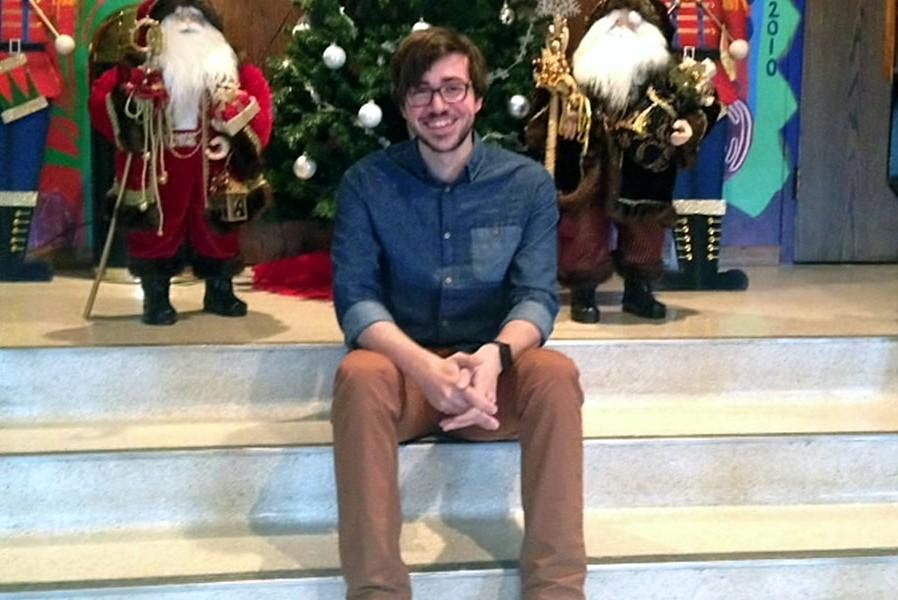 Nathan Larimer stopped by Bellwood-Antis for some pictures just before Christmas break.