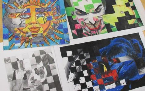 High School Art Slide Show