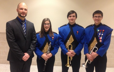 Three BA students reach Region 3 Band