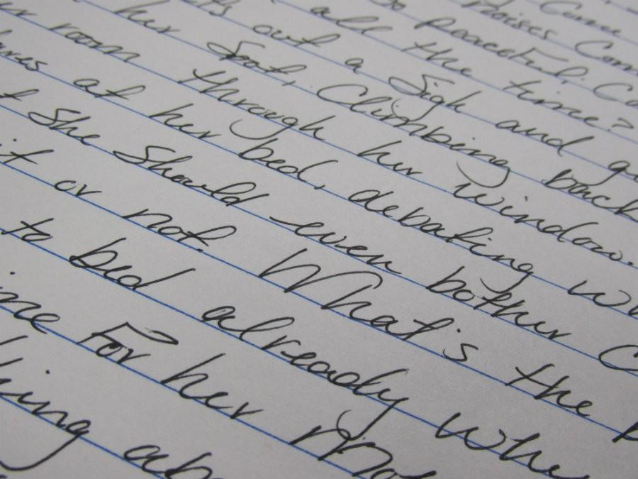 Cursive writing is rarely a focus in elementary schools in the age of standardized testing.