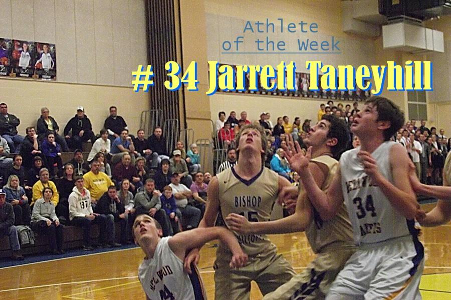 Jarrett+Taneyhill+is+known+for+his+shot-blocking+and+rebounding.