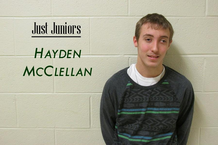 Theres probably a lot you didnt know about junior Hayden McClellan.