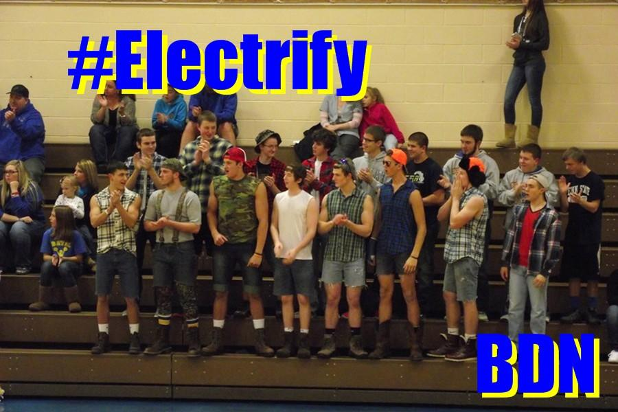 Blue Devil Nation has become a tradition for sports fans among the Bellwood-Antis student body.