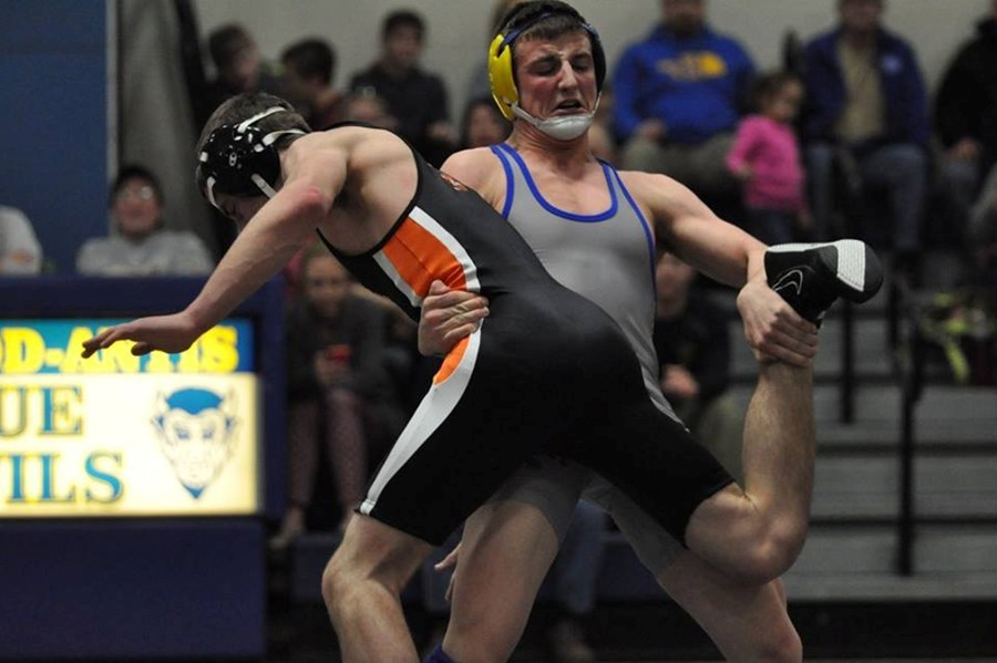 Nate Claar placed fourth last weekend in the toughest weight class at the Sheetz Holiday Wrestling Classic.