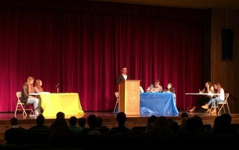 CHS students discuss fairness in annual school-wide debates