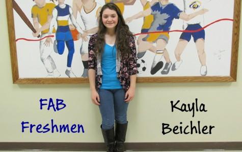 Kayla Beichler is enjoying her first year at Bellwood-Antis.