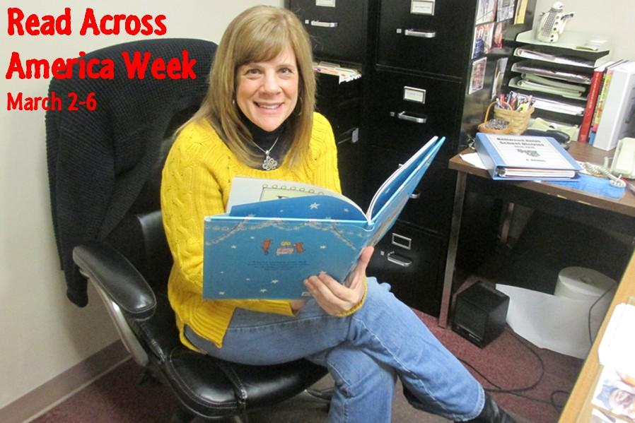 Everyone has a favorite book, including assistant high school principal Mrs. Adams.  The English department will be featuring readers and their favorite books Monday.
