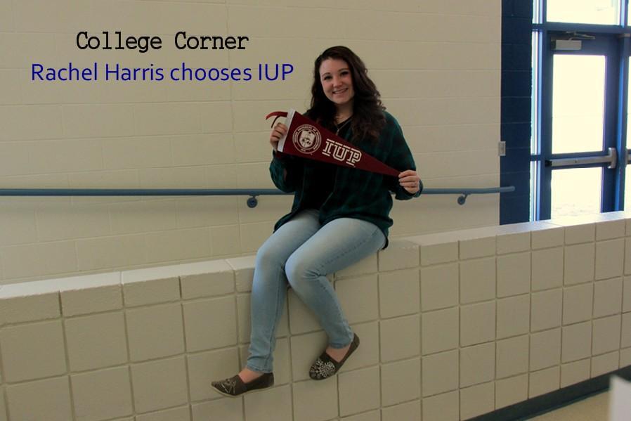 Rachel Harris likes IUP for its size and nursing program.