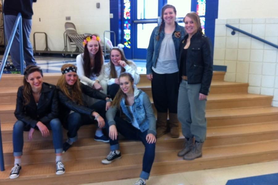 Students last year gave it their all for Read Across America Week, even dressing up for Dress as Your Favorite Book Character day.