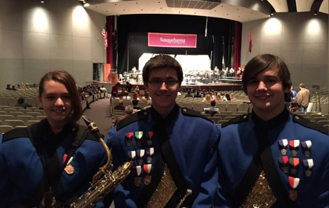 Three B-A student play in Susquehanna Honors Band