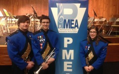 Revel Southwell, Curt Messner and Sarah Knisely all performed last Friday at the PMEA Region 3 Band Festival.