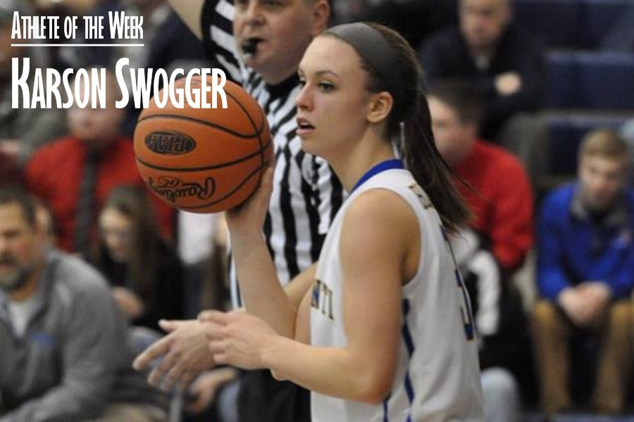Swogger scored 24 points to help lead the Lady Blue Devils over Tyrone and back to the District title game.
