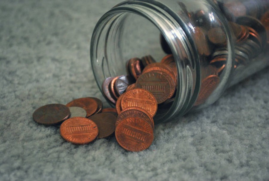 This is the day to get all those pennies from the bottom of the jar.