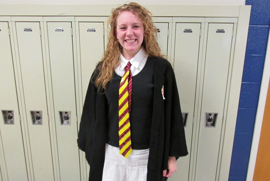 Anna Wolfe was Hermine from Harry Potter.