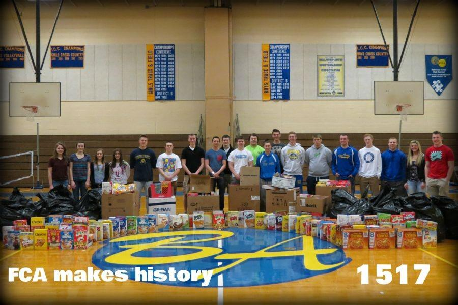 FCA+members+collected+cereal+boxes+in+record+numbers+to+donate+to+the+St.+Vincent+DePaul+food+pantry.