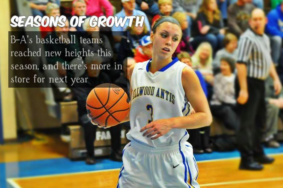 Karson Swogger led the Lady Blue Devils in scoring this season and she has two years left.