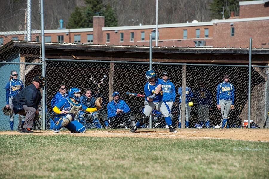 Caroline Showalter dominating it on the softball field.