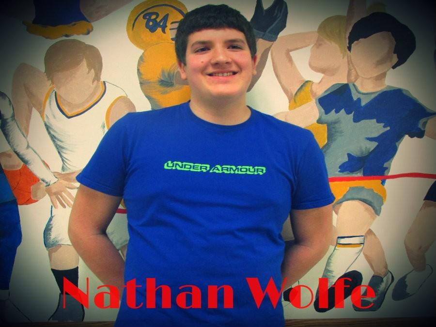 Eighth grader Nathan Wolfe is going to compete in the regional Mathcounts competition!