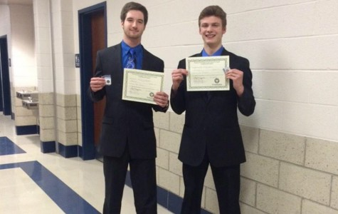 Four B-A students earn District titles in speech