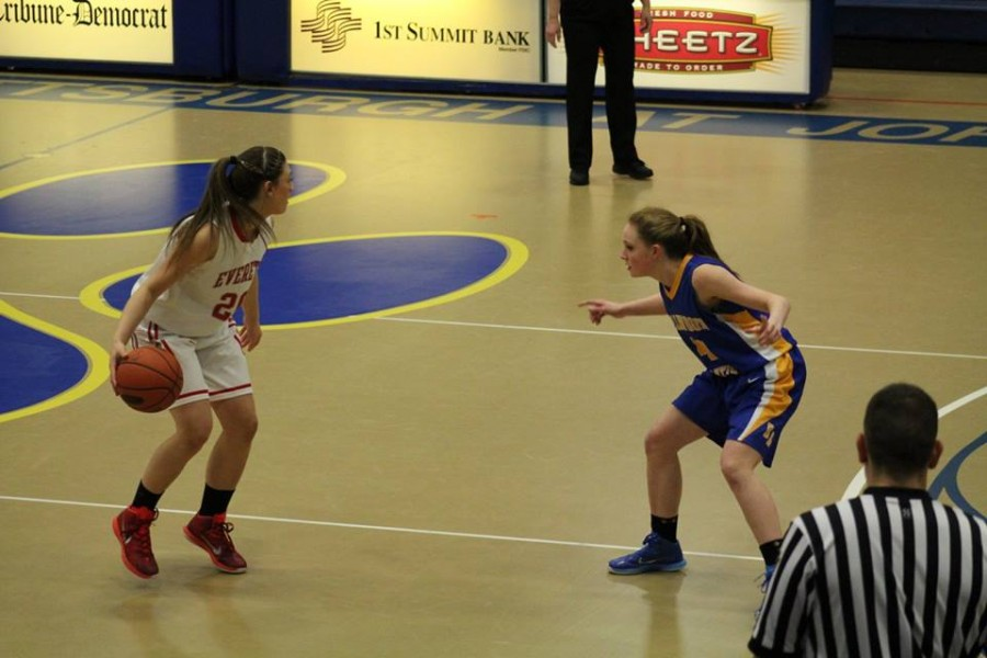 Mikayla Carles and the Lady Devils know defense will be huge in tonights game against Burrell at Richland.