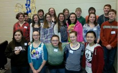 Students in grades 7-9 went to county chorus in Altoona earlier this week.
