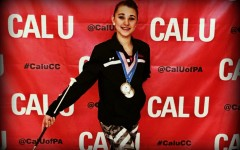 Mikala McCracken has been competing in high-level twirling competitions for several years now.