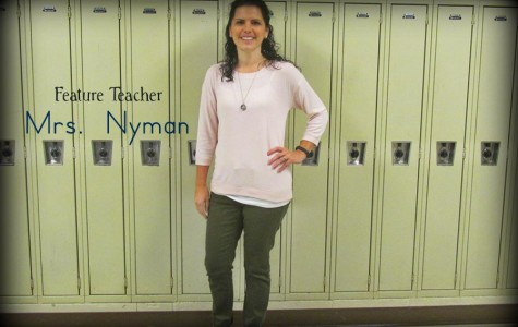 Mrs. Nyman has been able to combine her passion for education and fitness in her job as a health and PE teacher at B-A.