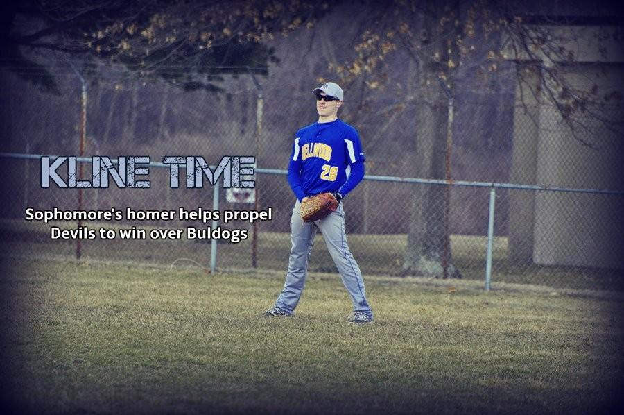 Sawyer Kline tripled and homered in B-As win at Claysburg.