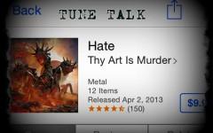 Tune Talk: the dark flavorings of Thy Art Is Murder