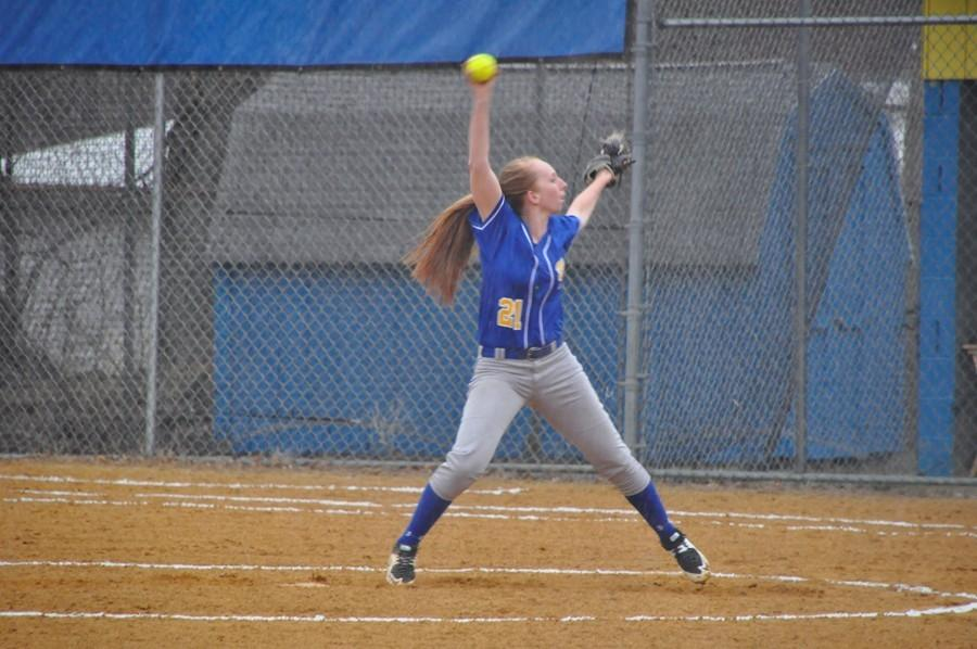 Maddie Miller doubled yesterday as the softball team stayed on a roll with a win over C-K.