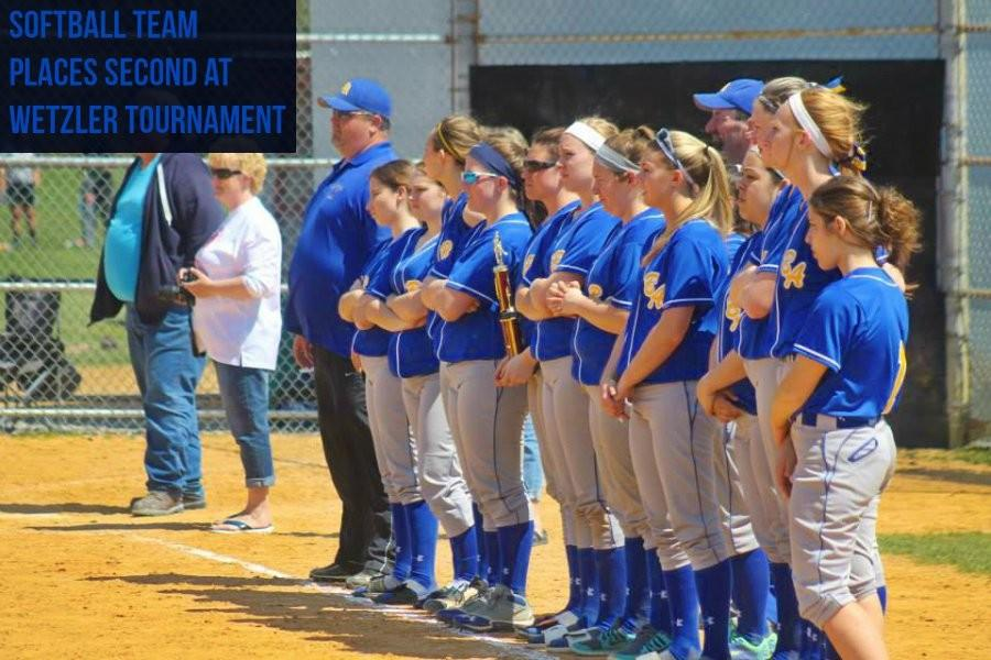 The Blue Devil softball team was the runner-up at the Wetzler Memorial Tournament in Bellefonte on Saturday.