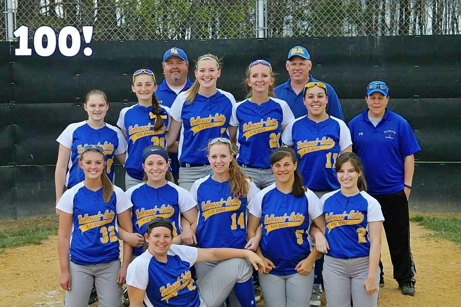 The B-A softball team has risen to regional prominence under the current coaching staff, led by Coach Jim Payne.