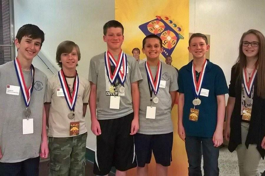 (l to r) Caedon Poe, Kenneth Robison, Zach Mallon, Jack Luensmann, Samuel Gormont, and Cassidy Troutman all stood out at the recent 24 Challenge competition.