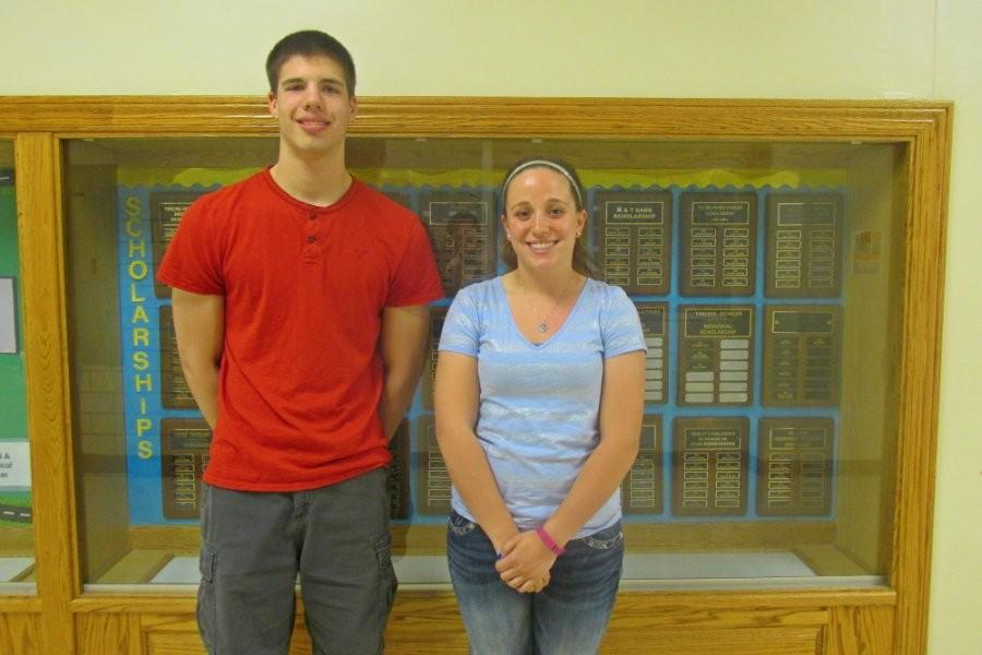 Jeremy Wilson and Jacqueline Finn Will address the Class of 2015 as Valedictorian and Salutatorian, respectively, at Commencement on June 5.