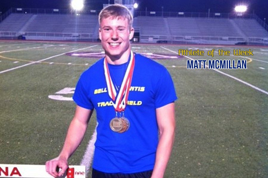 Matt McMillan will be back in Shippensburg this week for the second straight season to compete in the PIAA track and field championships.