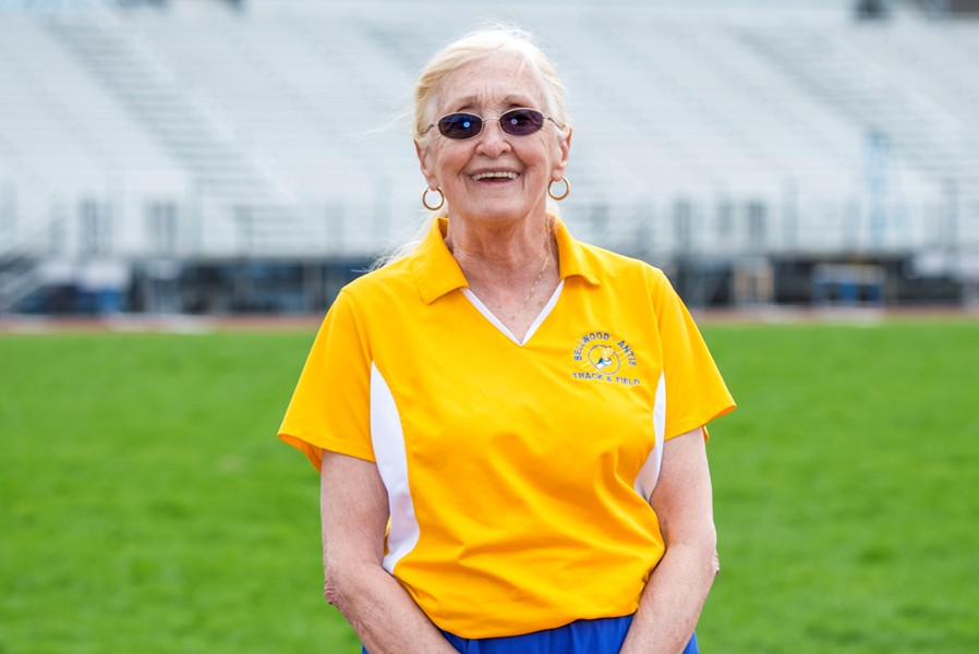 The B-A track boosters are planning a special night at DelGrossos to recognize Miss R for her 50 years as the girls track and field coach.