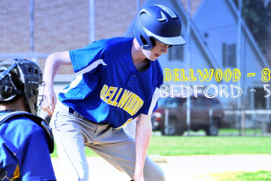 Bellwood defeats Bedford 8 to 5
