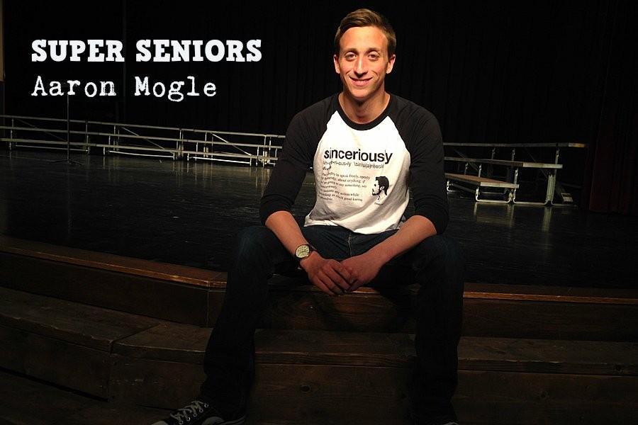 Aaron Mogle lives a pretty busy life as a senior at B-A.