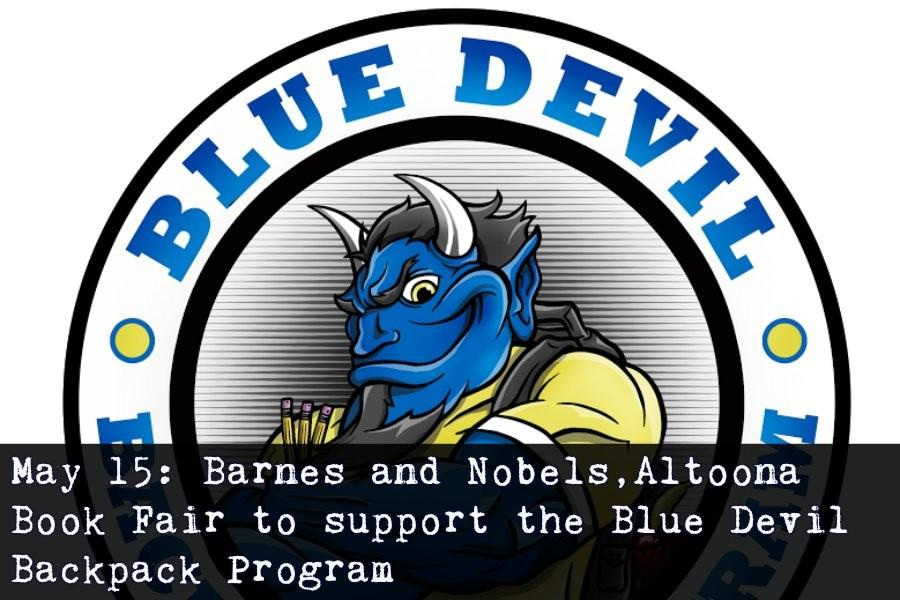 You can support the Blue Devil Backpack Program Friday by visiting Barnes and Nobles.