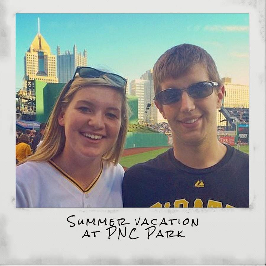 There's nothing more American than heading to the ballpark during summer vacation, like BluePrint writer Edyn Convery and her brother Cody did in 2014.