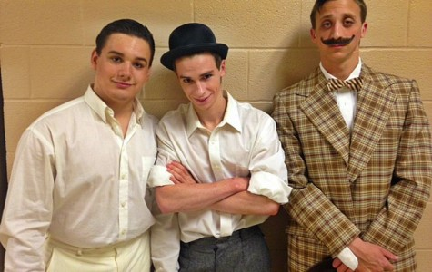 Main men in The Music Man enjoy the pressure