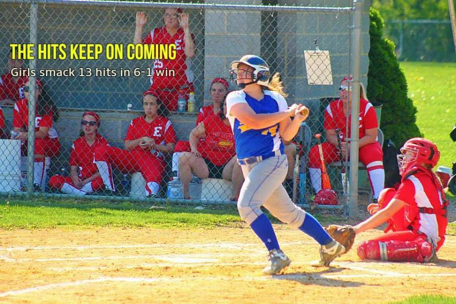 B-As softball team parlayed 13 hits into six runs in a win over Everett in the regular season finale.