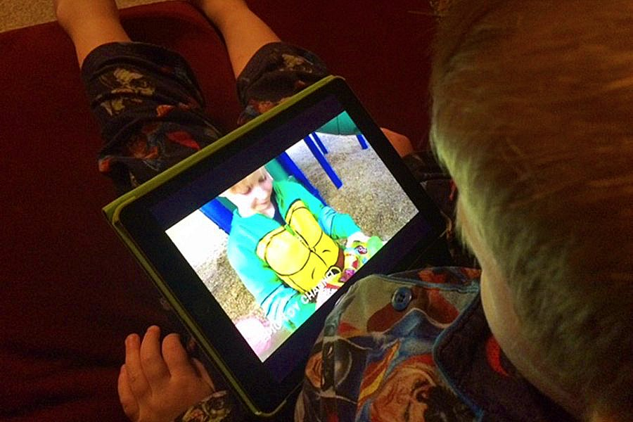 One major form of programming on YouTube Kids: kids (and often adults)  playing