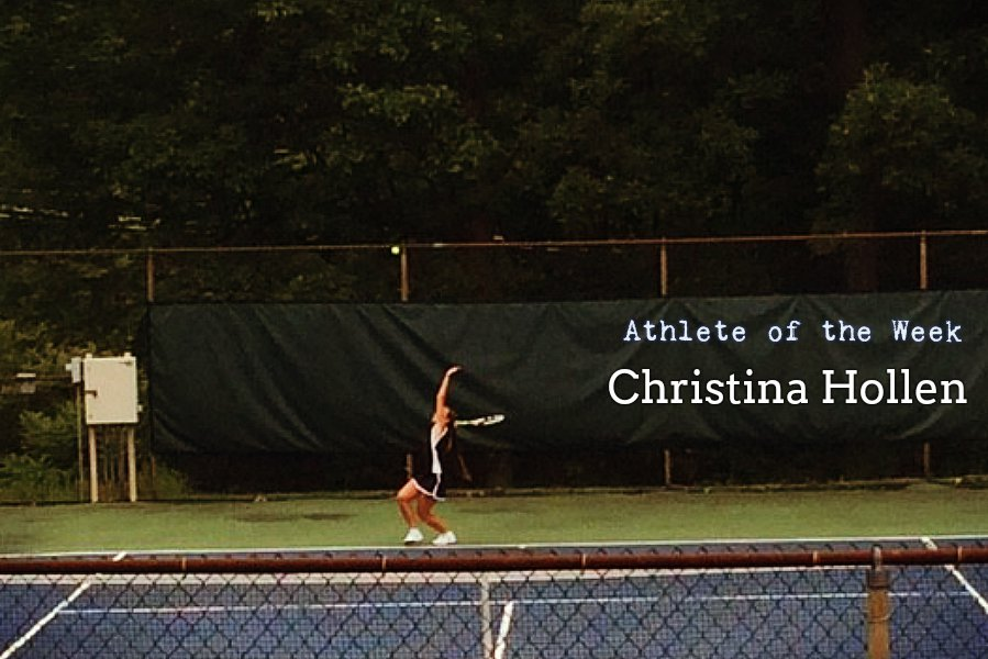 Tina+Hollen+won+her+first+match+of+the+season+last+week+against+Central.