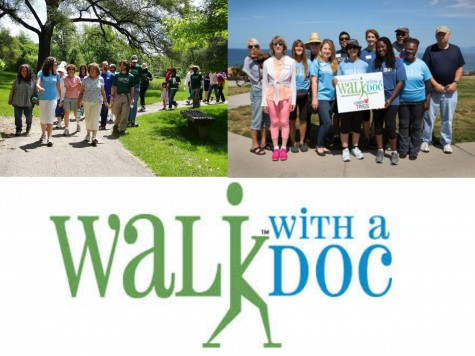 Walk with a Doc gathers hundreds of people to improve their health