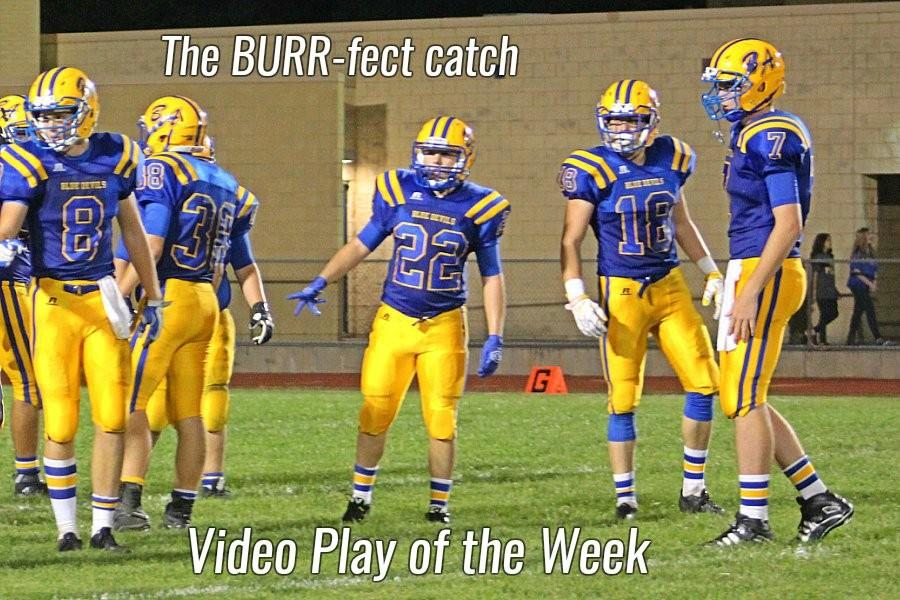 Devin+Burr++made+a+catch+that+shifted+the+momentum+of+the+game+Friday.