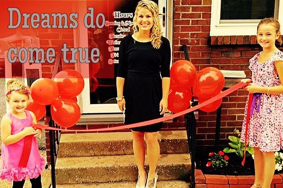 B-A grad Laura Cherry is making her dreams come true with her recently opened barbershop on Main Street.