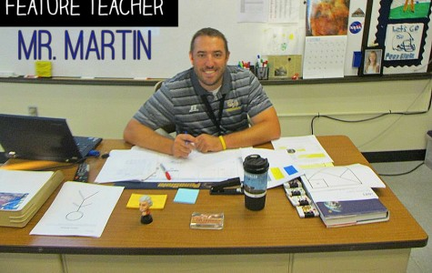 Mr. Martin studied optometry for a while, but his true passion is teaching.