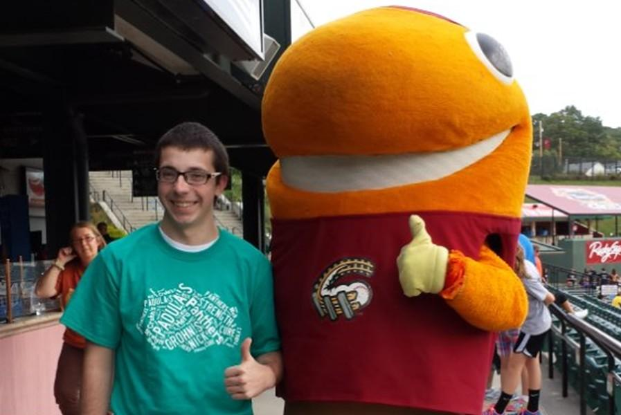 Nick Padula, son of B-A teacher Sally Padula, is an activist for the cause of Crohns and Colitis.