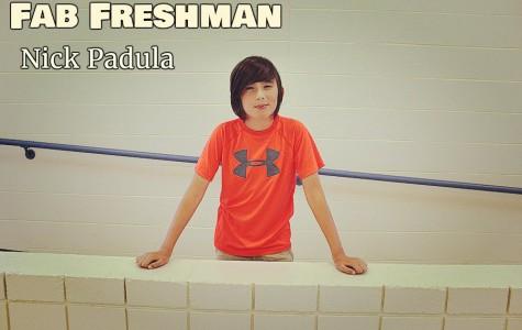 Nick Padula is enjoying his first year in the high school.